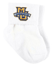 Marquette Golden Eagles Baby Sock Booties