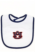 Auburn Tigers 2 Ply Baby Bib