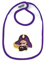 East Carolina Pirates 2 Ply Baby Bib