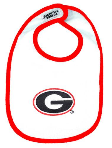 Georgia Bulldogs 2 Ply Baby Bib
