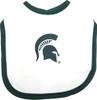 Michigan State Spartans 2 Ply Baby Bib