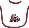 Mississippi State Bulldogs 2 Ply Baby Bib