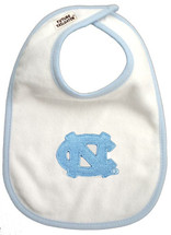 North Carolina Tar Heels 2 Ply Baby Bib