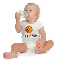 Appalachian State Mountaineers I Dribble Baby Onesie