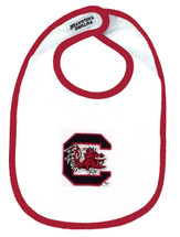 South Carolina Gamecocks 2 Ply Baby Bib
