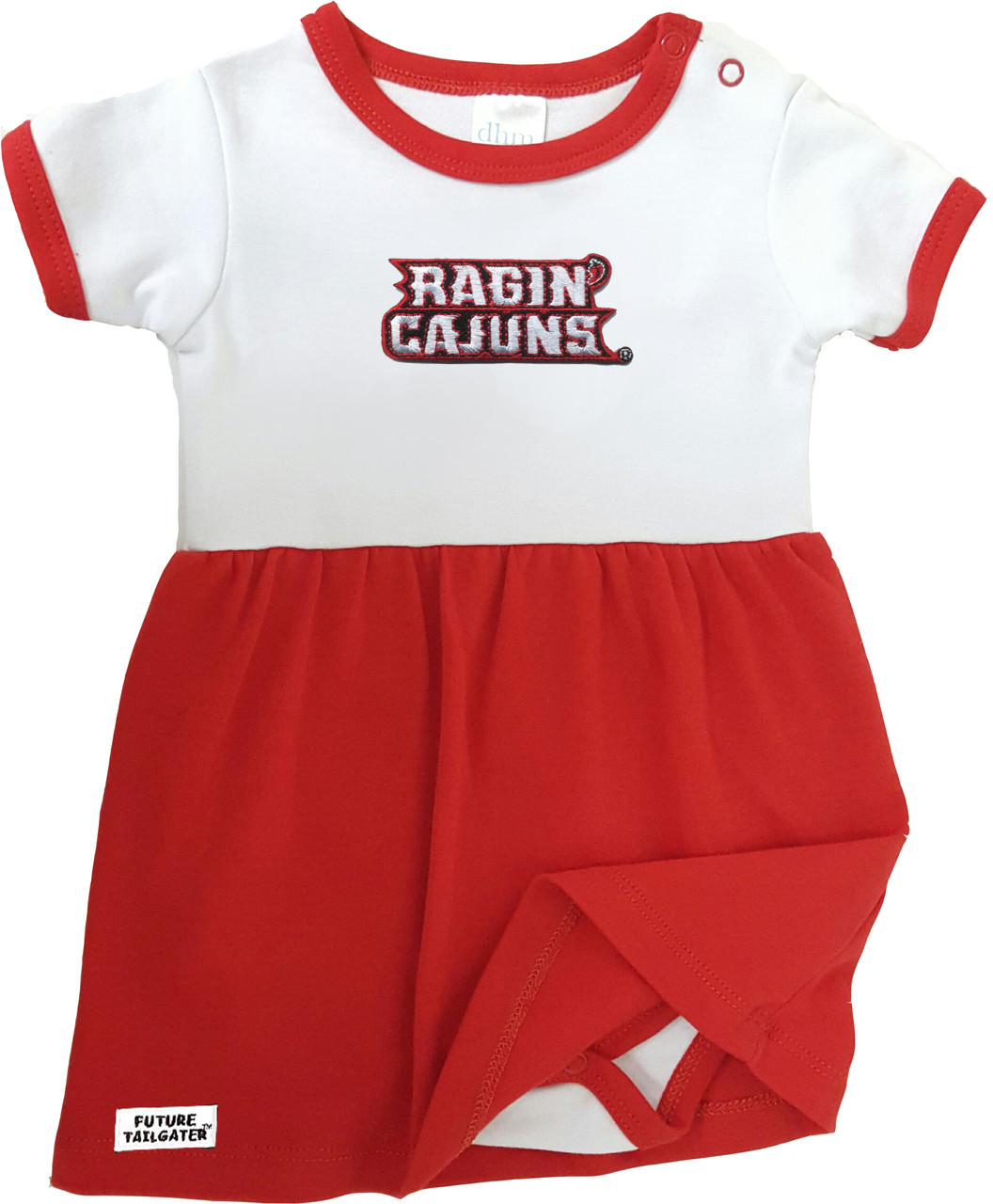 the latest 8dd0f 57694 Louisiana Ragin Cajuns Baby Baby Bodysuit Dress