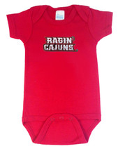 Louisiana Ragin Cajuns Team Spirit Baby Bodysuit