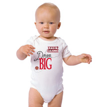 Louisiana Ragin Cajuns Dream Big Baby Onesie