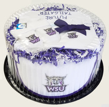Weber State Wildcats Baby Fan Cake Clothing Gift Set