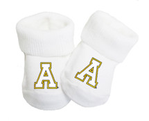 Appalachian State Mountaineers Boxed Baby Booties