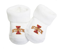 Iowa State Cyclones Baby Toe Booties