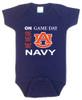 Auburn Tigers On Gameday Baby Onesie
