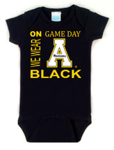 Appalachian State Mountaineers On Gameday Baby Onesie