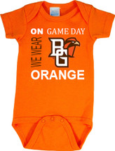 Bowling Green St. Falcons On Gameday Baby Bodysuit