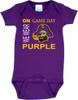 East Carolina Pirates On Gameday Baby Onesie