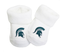 Michigan State Spartans Baby Toe Booties