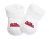 Mississippi Ole Miss Rebels Baby Toe Booties
