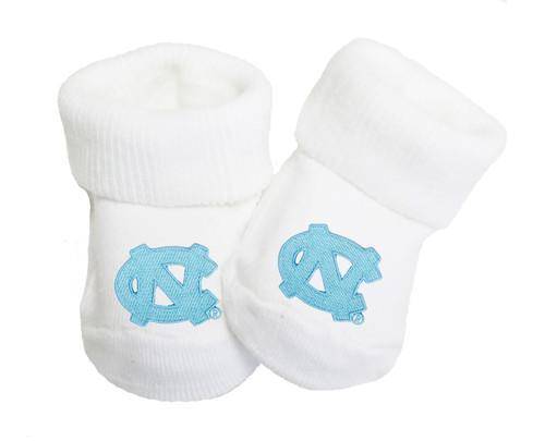 North Carolina Tar Heels Baby Toe Booties