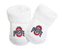 Ohio State Buckeyes Baby Toe Booties