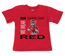 NC State Wolfpack On Gameday Infant/Toddler T-Shirt