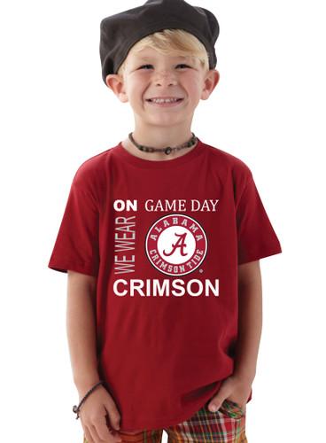 Alabama Crimson Tide On Gameday Infant/Toddler T-Shirt