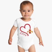 Iowa State Cyclones Love Baby Onesie