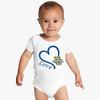 Marquette Golden Eagles Love Baby Onesie