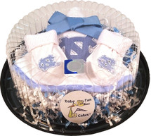 North Carolina Tar Heels Piece of Cake Baby Gift Set