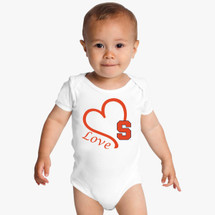 Syracuse Orange Love Baby Bodysuit