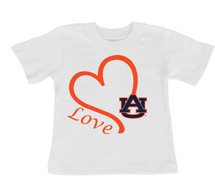 Auburn Tigers Love Infant/Toddler T-Shirt
