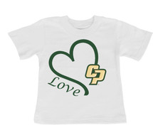Cal Poly Mustangs Love Infant/Toddler T-Shirt
