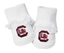 South Carolina Gamecocks Baby Toe Booties