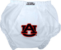 Auburn Tigers Eyelet Baby Diaper Cover