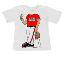 Louisiana Ragin Cajuns Heads Up! Baseball Infant/Toddler T-Shirt