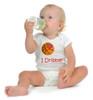 "North Carolina State Wolfpack Basketball ""I Dribble"" Baby Onesie"