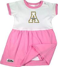 Appalachian State Mountaineers Baby Bodysuit Dress - Pink