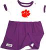 Clemson Tigers Baby Onesie Dress - Purple