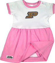 Purdue Boilermakers Baby Onesie Dress - Pink