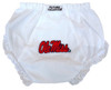 Mississippi Ole Miss Rebels Eyelet Baby Diaper Cover