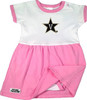 Vanderbilt Commodores Baby Onesie Dress - Pink