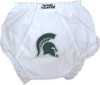 Michigan State Spartans Eyelet Baby Diaper Cover
