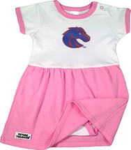 Boise State Broncos Onesie Baby Dress - Pink