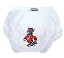North Carolina State Wolfpack Eyelet Baby Diaper Cover