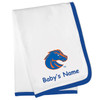 Boise State Broncos Personalized Baby Blanket