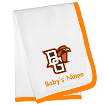 Bowling Green St. Falcons Personalized Baby Blanket