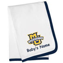Marquette Golden Eagles Personalized Baby Blanket