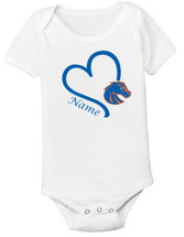 Boise State Broncos Personalized Baby Onesie