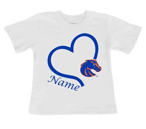 Boise State Broncos Personalized Baby/Toddler T-Shirt
