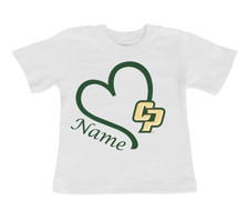 Cal Poly Mustangs Personalized Baby/Toddler T-Shirt