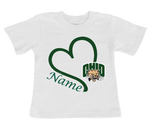 Ohio Bobcats Personalized Baby/Toddler T-Shirt